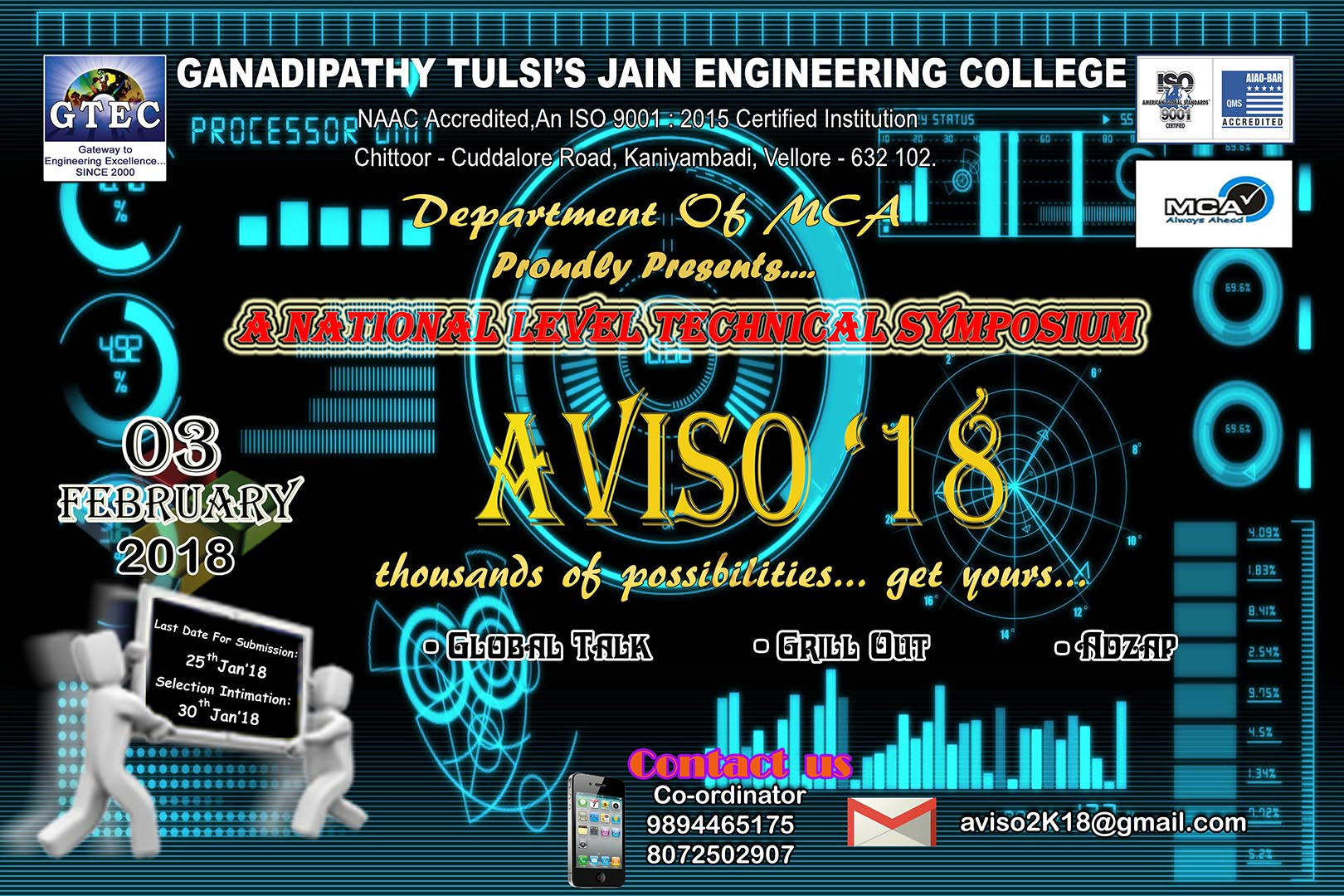 Gtec ganadipathy tulsis jain engineering college organized by department of civil engg aiddatafo Choice Image